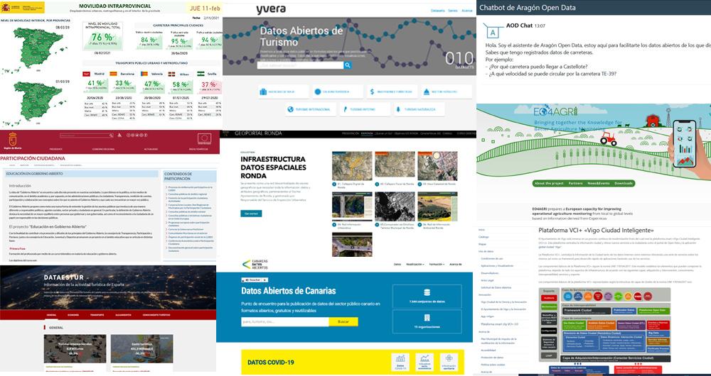 Novedades open data invierno