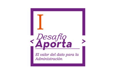 """Imagen sobre la iniciativa """"Desafío Aporta 2017: El valor de l dato para la Administración"""""""