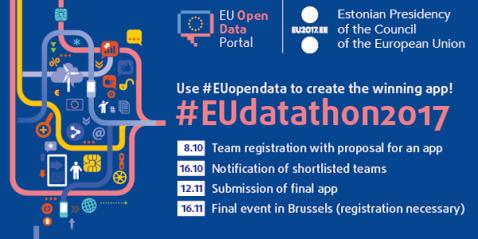 UEDatathon, datos abiertos, reutilización