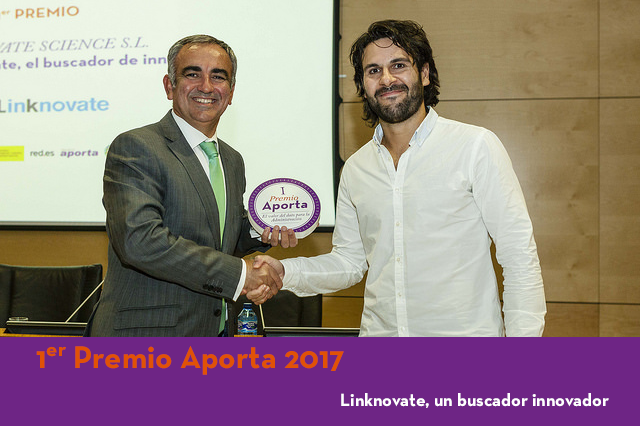Premio Aporta 2017, Linknovate, datos públicos