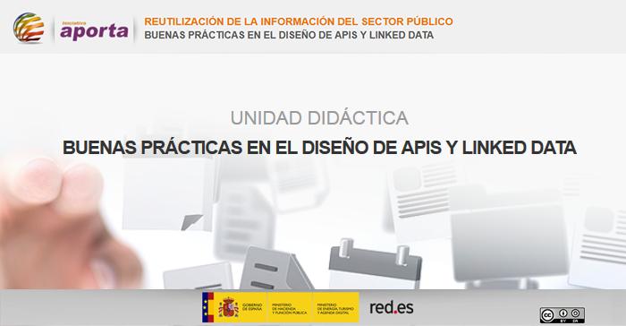 Portada Unidad: Buenas prácticas en el diseño de APIs y Linked Data