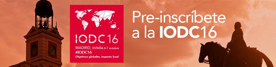 Pre-inscripción IODC16