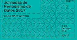 "Imagen informativa de las ""Jornadas de Periodismo de Datos 2017"""