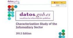 Captura de la versión en inglés del Estudio de Caracterización del Sector Infomediario