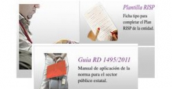 Guías y plantillas para responsables técnicos RISP