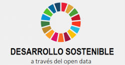 "Logo del informe ""Desarrollo Sostenible a través del open data"""