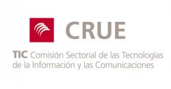 """Logo """"Comisión Sectorial de Tecnologías de la Información y las Comunicaciones de la Conferencia de Rectores de Universidades Españolas"""""""