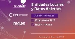 Entidades Locales y Datos Abiertos: Auditorio de Red.es 23 de octubre 2017