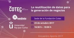 reutilización, datos, Aporta 2017