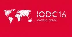 """Logo de la """"4ª Conferencia Internacional sobre Datos Abiertos, IODC16"""""""