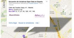 Mapa de ubicación del Encuentro