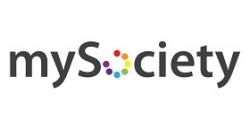 """Logo de la organización """"mySociety"""""""