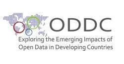"""Logo del proyecto """"Explorando el impacto emergente de los Datos Abiertos en los países en vías de desarrollo"""""""