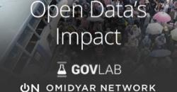 "Imagen infromativa sobre ""Open Data's Impact"""