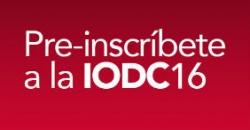 """Imagen de preinscripcción a la """"4ª Conferencia Internacional sobre Datos Abiertos, IODC16"""""""