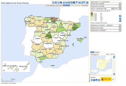 Atlas Digital De Las áreas Urbanas Datos Gob Es
