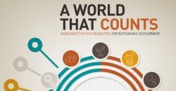 """Imagen del informe """"Un mundo que cuenta: La revolución de los datos para lograr un desarrollo sostenible"""""""