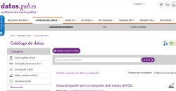 Catálogo Nacional de Datos Abiertos
