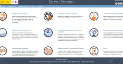 """Imagen página web """"Centro de Descargas del CNIG"""""""