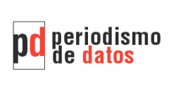 """Logo de las jornadas """"Periodismo de datos"""""""