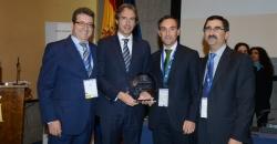 Foto representantes del Ayuntamiento de Zaragoza galardonado con el premio
