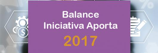 Balance Aporta 2017