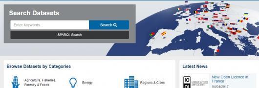 Homepage EDP