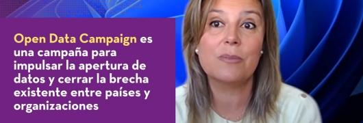 Captura de la Entrevista a Belén Gancedo, Microsoft