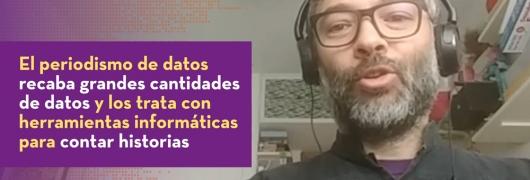 captura entrevista a Adolfo Antón, periodista de datos