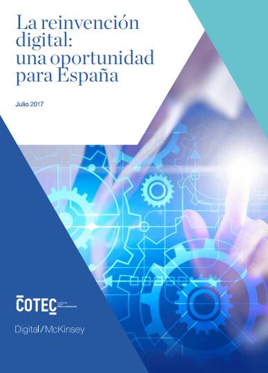 La reinvención digital: una oportunidad para España