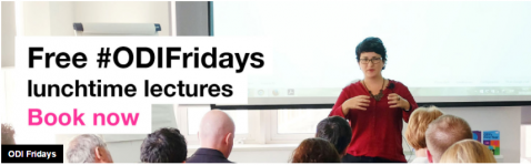 """Imagen sobre """"Free #ODIFridays lunchtime lectures"""""""