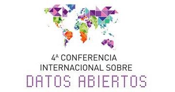 """Logo de la """"IV Conferencia Internacional de Datos Abiertos"""""""