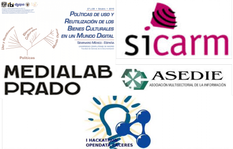 Imagen informativa de Eventos sobre Open Data octubre 2015