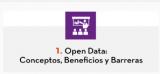 1. Open Data: Conceptos, Beneficios y Barreras