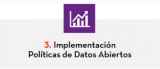 3. Implementación Políticas de Datos Abiertos