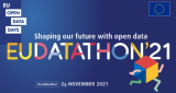 EUDATATHON 2021. Shaping our future with open data. 25 novembrer 2021