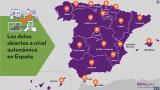 Los datos abiertos a nivel autonómico en España