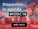 Disponible la agenda del #IODC16