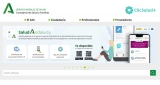 Captura de la web del Servicio Andaluz de Salud