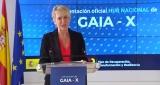 Carme Artigas presentando Gaia-X