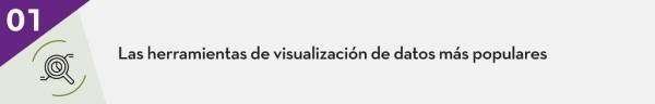 1. Las herramientas de visualización de datos más populares