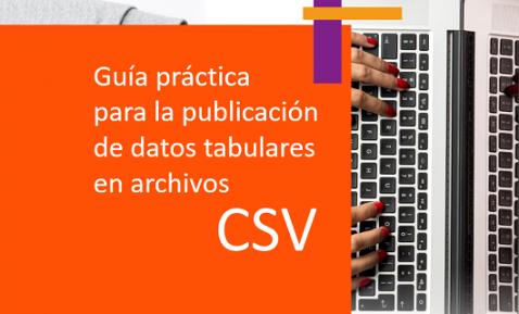 Guía práctica para la publicación de datos tabulares en archivos CSV