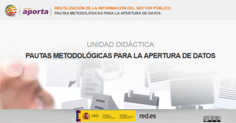 Portada Unidad: Pautas metodológicas para la apertura de datos