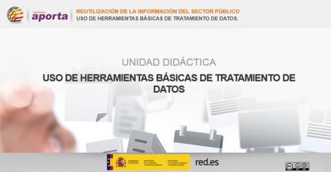 Portada Unidad: Uso de herramientas básicas de tratamiento de datos