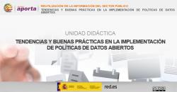 Portada Unidad: Tendencias y buenas prácticas en la implementación de políticas de datos abiertos