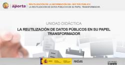 Portada Unidad: La reutilización de datos públicos en su papel transformador