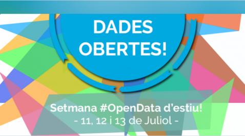 Logo semana OpenData Lab en Barcelona