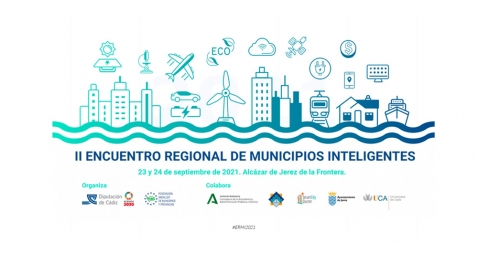Cartel II Encuentro Regional de Municipios Inteligentes