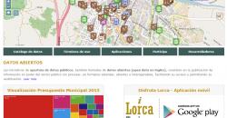Web de datos abiertos del Ayuntamiento de Lorca