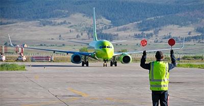Tráfico aéreo del Aeropuerto Seve Ballesteros - Santander